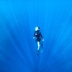 深い青い世界